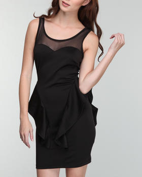 Fashion Lab - High low peplum detail dress