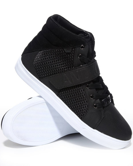 Ah By Android Homme Men Black Designer Mid