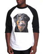 Men - Community 54 Rottweiller 3/4 Raglan