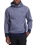 Men - Melange high neck pullover