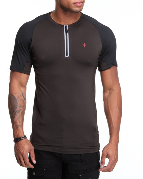 Psyberia Black Bravara S / S Performance Top