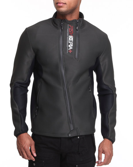 Psyberia Black Reliance Performance Zip Up