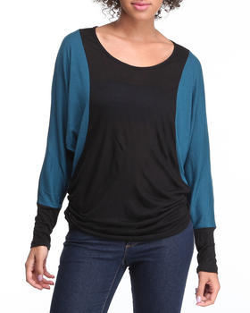 Basic Essentials - Color Block Long Sleeve top