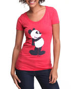 LRG - Pucky Panda scoop neck tee