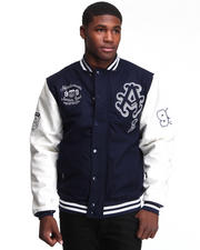 Heavy Coats - Thompson Wool Blend Varsity Jacket