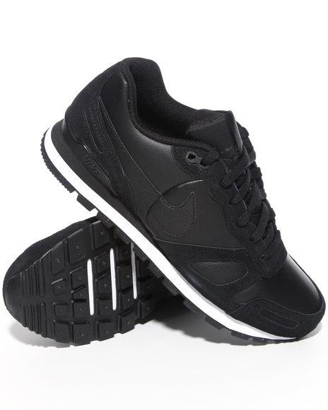 Nike Men Black Air Waffle Trainer Sneakers