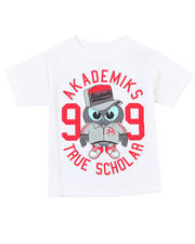 4-7x Little Boys - Owl Short Sleeve Tee (4-7)