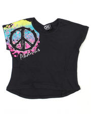 Tops - Peace Splatter Tee (7-16)