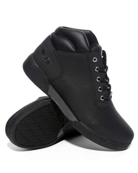 LRG Men Black Alder Leather Boots