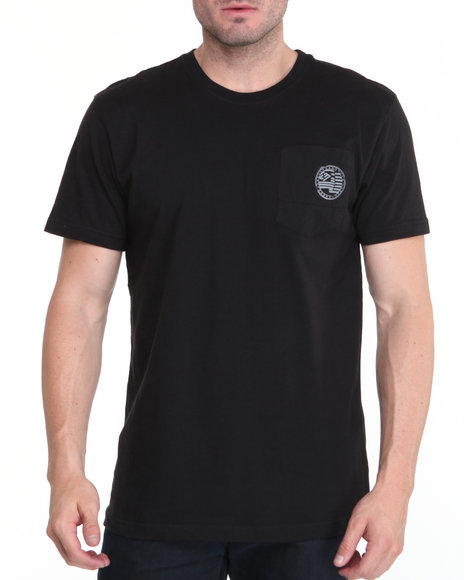 Enyce Men Black Required Alpha Crew Shirt