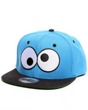 Hats - Sesame Street Cookie Monster Eyes Snapback