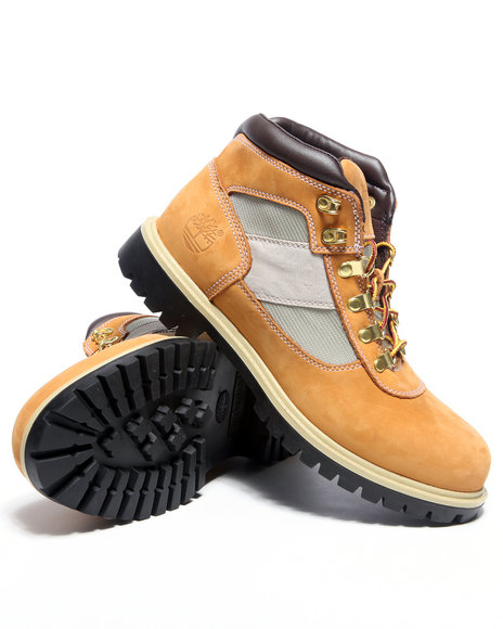 Timberland Men Wheat Camp Fl Boots