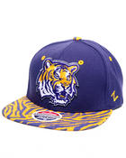 Men - LSU Tigers Print snapback hat (Drjays.com Exclusive)