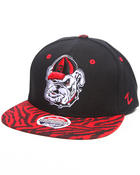 Men - Georgia Bulldogs Tiger print snapback hat (Drjays.com Exclusive)