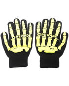 Men - Skull Knit Gloves