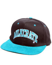 The Skate Shop - Milkcrate Suede Arc snapback