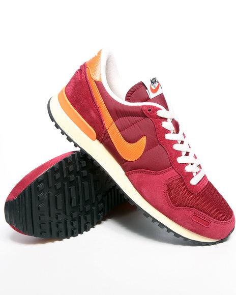 Nike Men Red Nike Air Vortez Vintage Sneakers