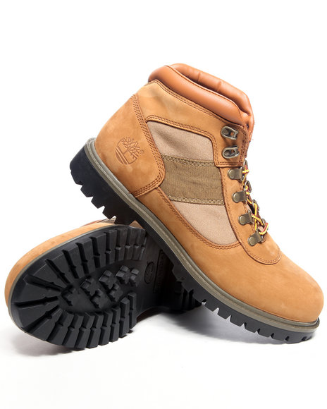 Timberland Men Tan Camp Fl Boots