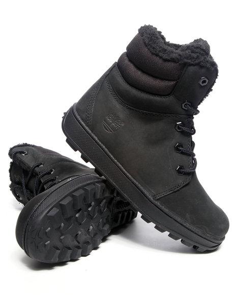 Timberland Boys Black Moose Mountain Boots