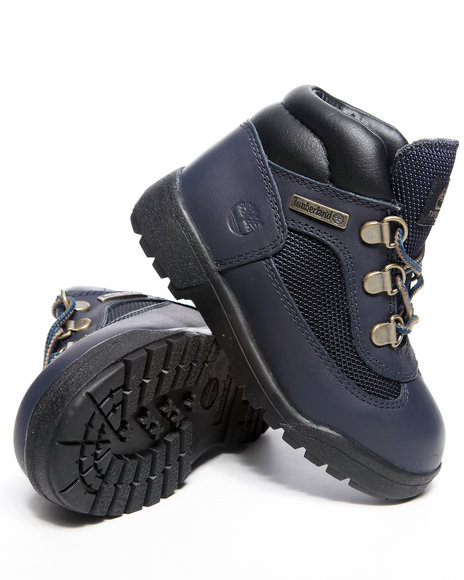 Timberland Boys Navy Field Boots