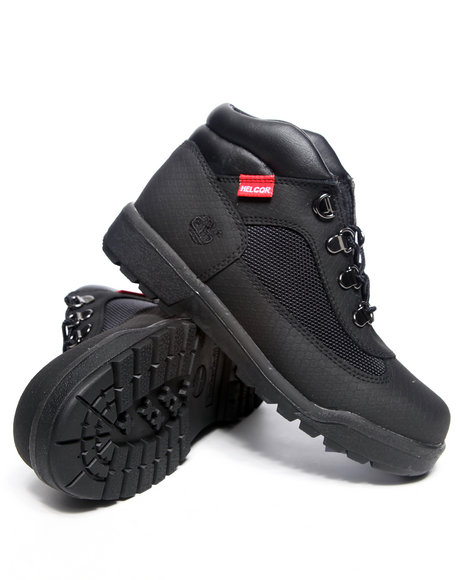 Timberland Boys Black Helcor Field Boots