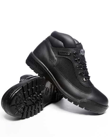 Timberland - Men Black Timberland Waterproof Field Boots