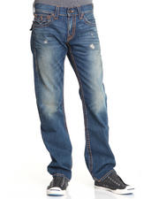 True Religion - Ricky Straight Fit Flap Pocket Pant