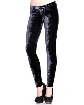 DJP OUTLET - Crushed Velvet Legging