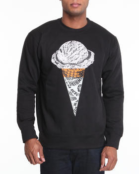 "Ice Cream - L/S ""Single Scoop"" Crewneck sweatshirt"