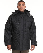 Heavy Coats - Explorer Quilted 3/4 Length Jacket