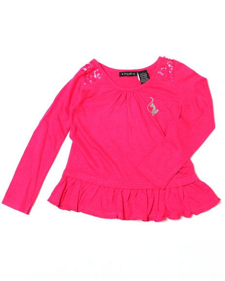 Baby Phat Girls Pink Ruffle Tunic (4-6X)