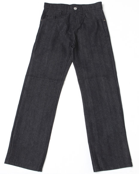 Akademiks Boys Black Star Jeans (8-20)