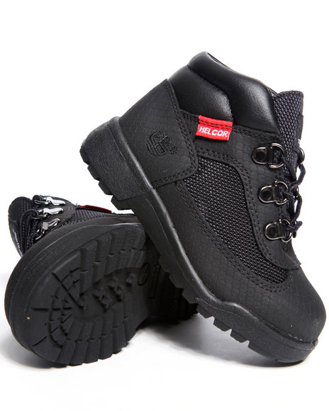 Timberland Boys Black Helcor Field Boots