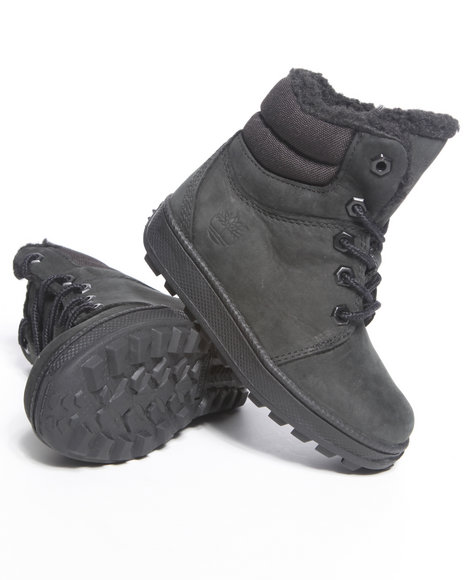Timberland Boys Black Moose Mountain Boots