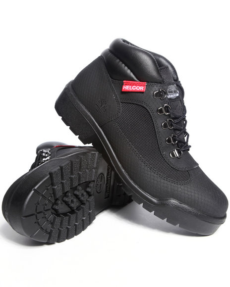 Timberland Men Black Helcor Field Boots