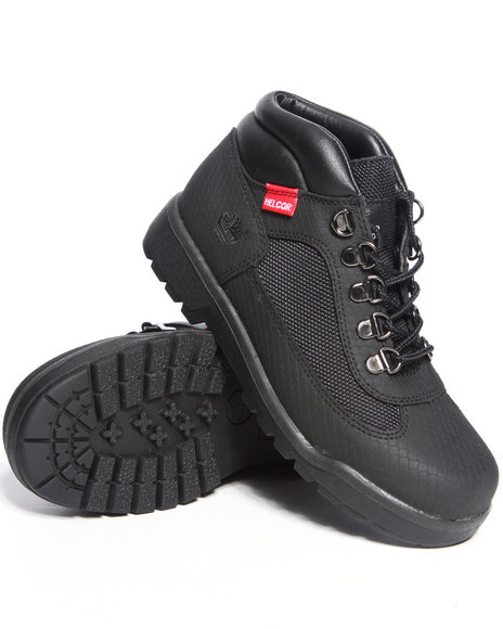 Timberland Boys Black Helcor Field Boots (3.5-7)