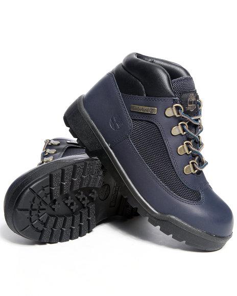 Timberland Boys Navy Field Boots