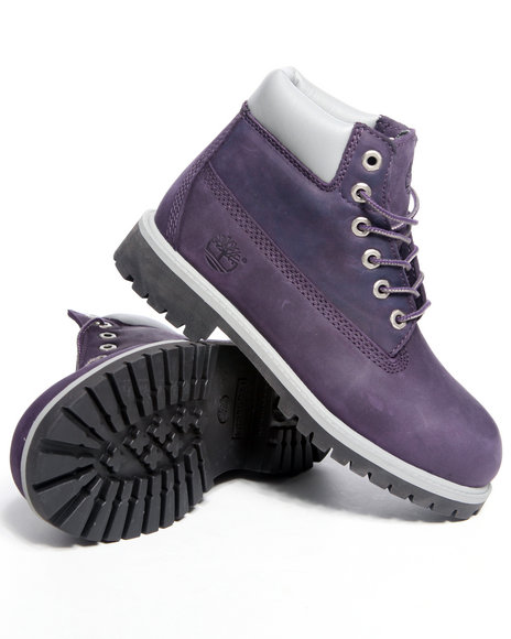 Innovative Timberland Ankle Boots In Purple  Lyst