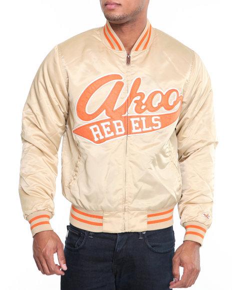 Akoo Men First Shot Varsity Jacket - Outerwear