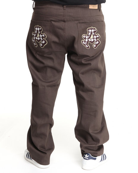 - Double A Raw Denim w/ Applique (B&T)