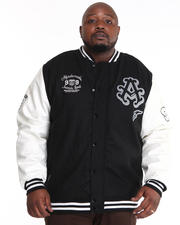 Outerwear - Thompson Wool Blend Varsity Jacket (B&T)