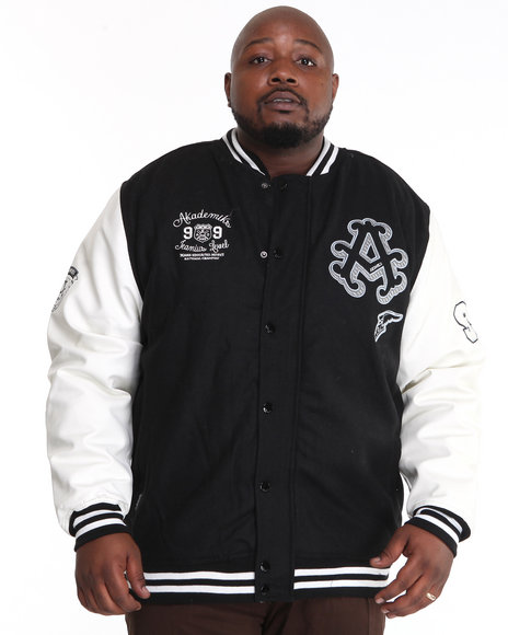 - Thompson Wool Blend Varsity Jacket (B&T)