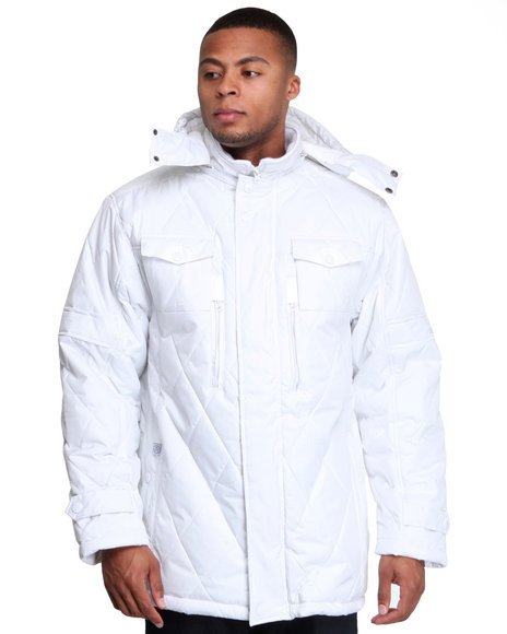 - Explorer Quilted 3/4 Length Jacket