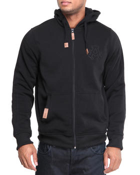 Akademiks - Carl Lewis fleece full zip hoodie