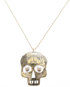 Mercedes Salazar - Grande Calavera Necklace