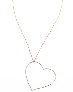 Gauge - Bubble Heart Necklace