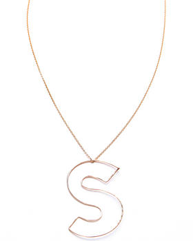 "Gauge - Bubble ""S"" Necklace"