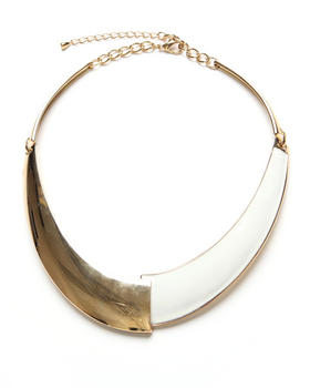 Adia Kibur - Enamel Collar Necklace