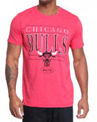 Junk Food - Chicago Bulls Heather S/S crew tee