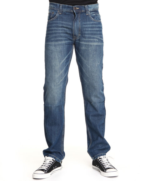 - Apollo Signature Embroidered Denim Jean